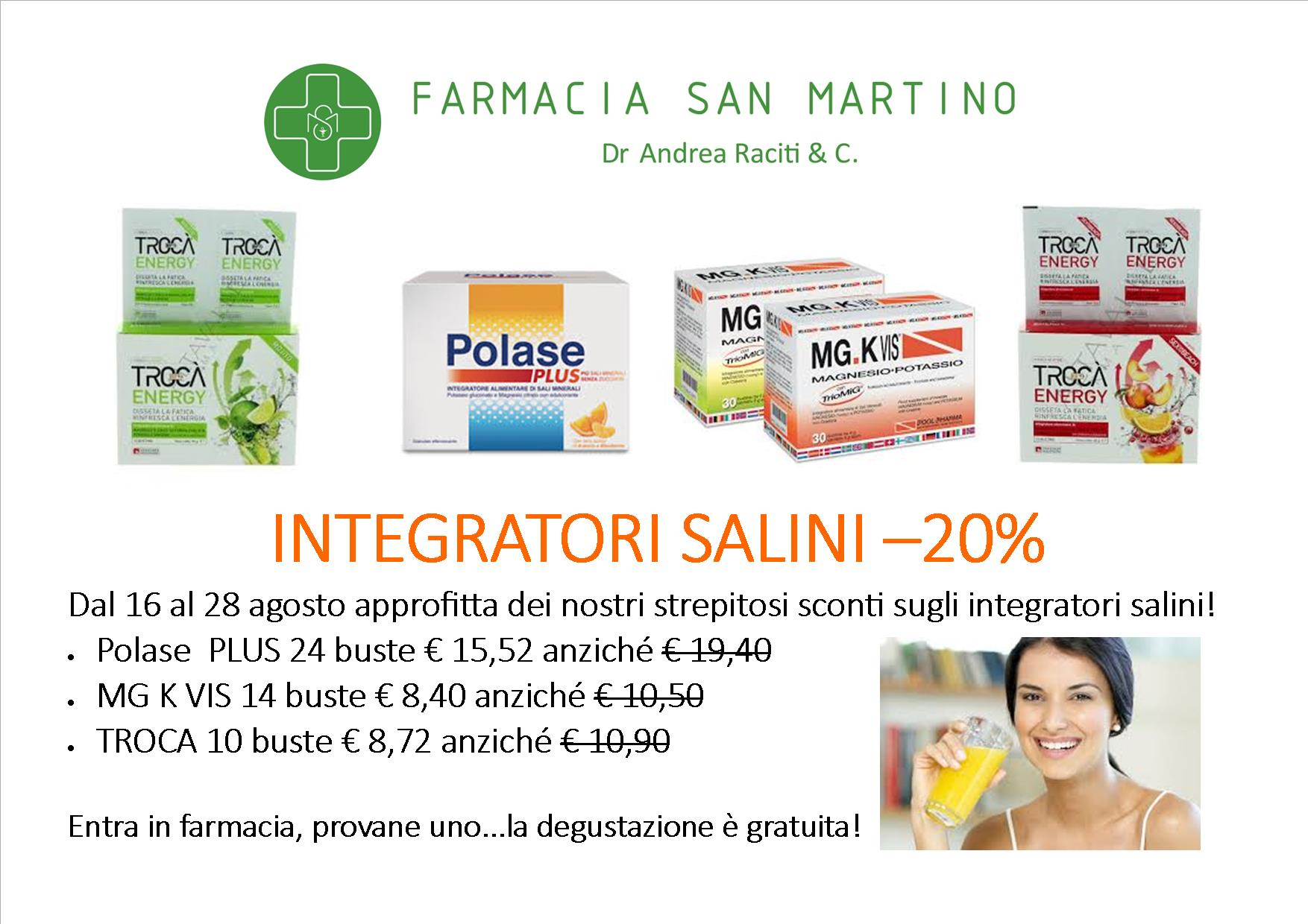 Offerte integratori salini