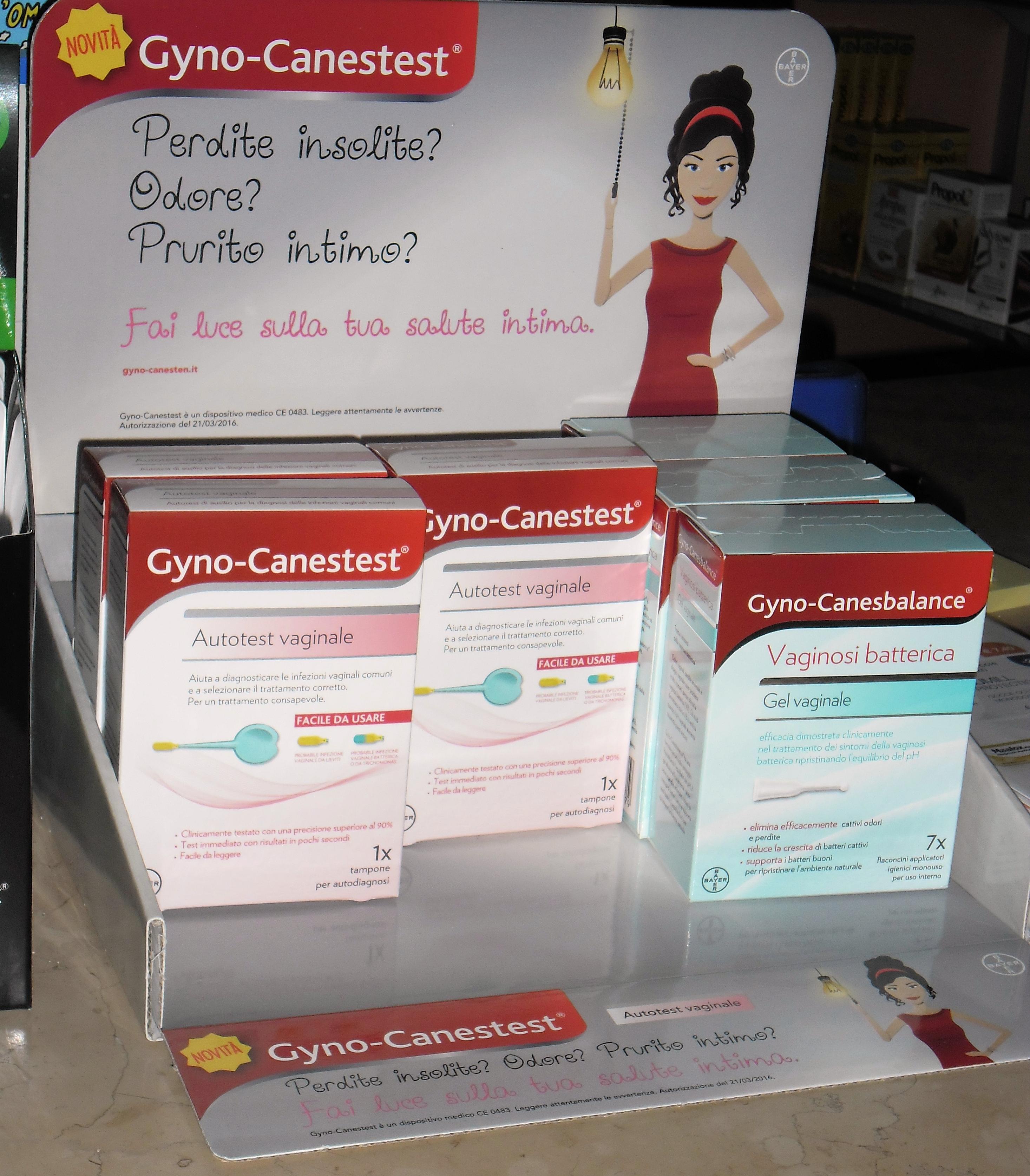 expo gynocanestest